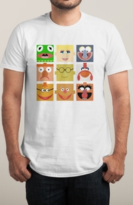 3 x 3 = Friendship: Muppets DTG, The Muppets Tees + Threadless Collection