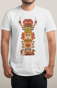 Friendship Totem Pole: Muppets DTG, The Muppets Tees + Threadless Collection