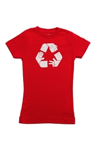 Rock Paper Scissors Recycled, Lil' Girly + Threadless Collection