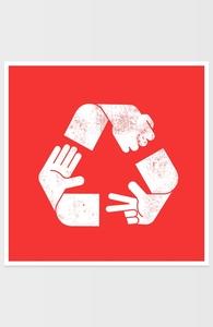 Rock Paper Scissors Recycled Hero Shot