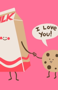 Cookie Loves Milk, New Designs and Recent Reprints + Threadless Collection