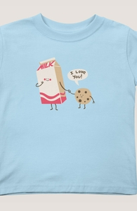 Cookie Loves Milk, Toddler + Threadless Collection
