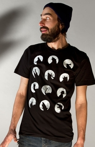 Wolf's Night Off, Was $9.95 - Now $8.99! + Threadless Collection