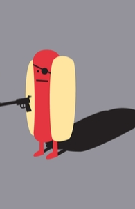 Diabolical Hot Dog Hero Shot