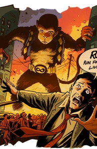 Monkey Around, Issue 4, Vol. 4 Hero Shot