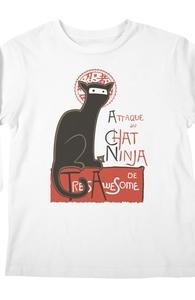 A French Ninja Cat! Hero Shot