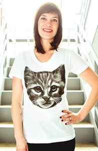 Everybody Wants to be a Cat, New and Top Selling Cat T-Shirts + Threadless Collection