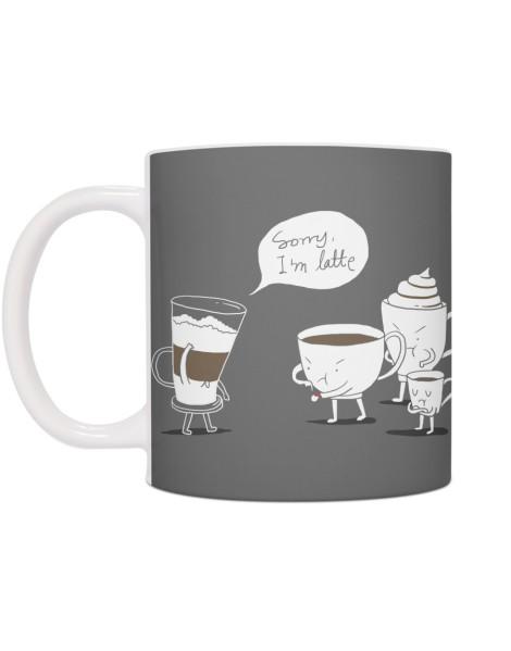 Coffee That's Always Late Hero Shot