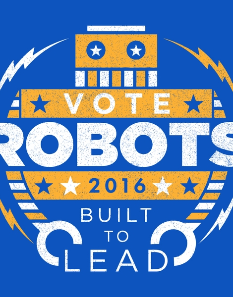 Vote Robots! Hero Shot