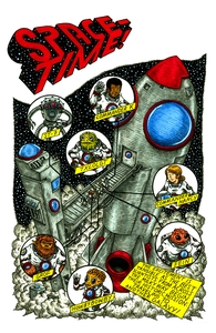 Space-Time!, Across Space-Time, Issue 1, Vol. 5 Hero Shot