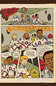 Space-Time!, Space Travel is Mostly Boring, Issue 2, Vol. 5  Hero Shot