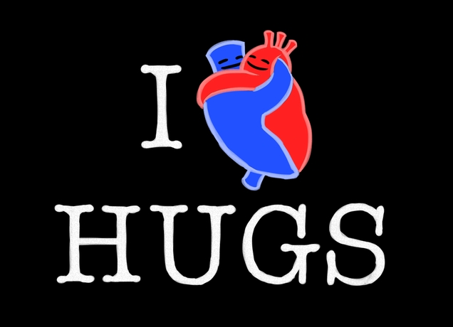 I Love Hugs Shirt Cute Hugs Color Black Anatomy Heart Threadless