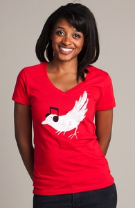 Listening to My Song: Girly Organic V-Neck Select, Sale! + Threadless Collection