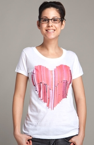51 Love Stories, Select Girly Pima Tee, Sale! + Threadless Collection
