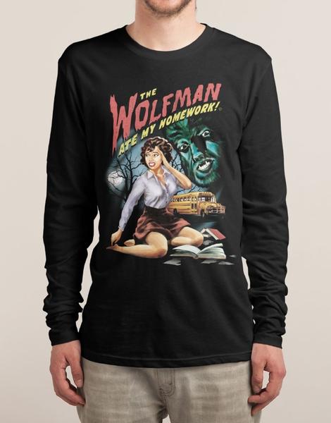 The Wolfman Ate My Homework! Hero Shot