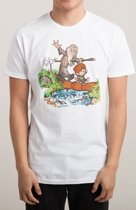 Halfling and Wizard, Etc + Threadless Collection