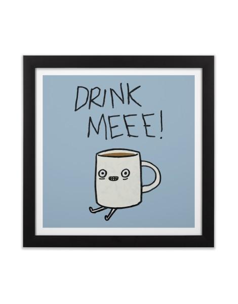 Drink Me Coffee Hero Shot