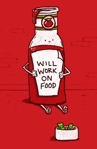 Will Work on Food, Phil's Designs + Threadless Collection