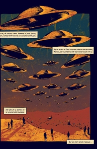 The Day The Saucers Came, Issue 1, Vol. 6 Hero Shot