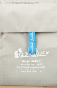 Magic Rabbit: Threadless Nylon Tote, Nylon Totes + Threadless Collection