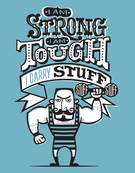 Strongman Hero Shot