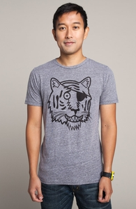Eyes of the Tiger: Threadless Guys Tri-Blend Tee, Sale! + Threadless Collection