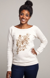 La Dolce Vita: Girly Tri-Blend Pullover, Girly Select + Threadless Collection