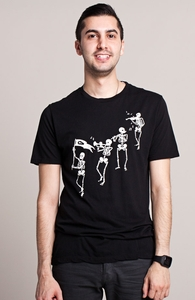 Bag o' Bones Boogie: Select Threadless Guys Pima Tee , Sale! + Threadless Collection