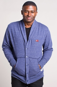 In The Basement Of The Alamo: Threadless Guys French Terry Shawl Cardigan, Guys Select + Threadless Collection