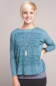 Urban Fabric: Threadless Long Sleeve Dolman, Girly Select + Threadless Collection