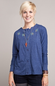 Feline Felony: Threadless Tri-Blend Dolman Cardigan, Girly Select + Threadless Collection