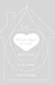 All We Need is Love. And Food. And Water. And Shelter.: Threadless Pet Bed, Pet Gifts for Sale + Threadless Collection