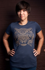 Ornamental Tiger, New and Top Selling Cat T-Shirts + Threadless Collection