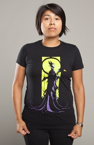 Magnificent Maleficent, Disney Villains + Threadless Collection