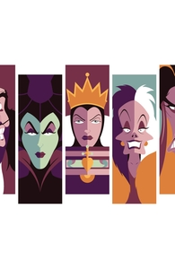 Retro Villains, Disney Villains + Threadless Collection