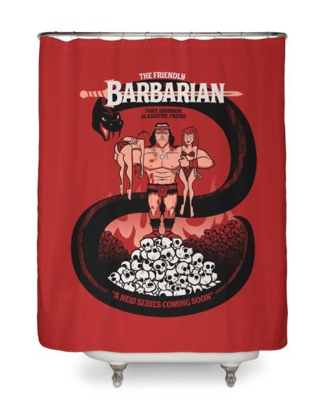 The Barbarian Hero Shot