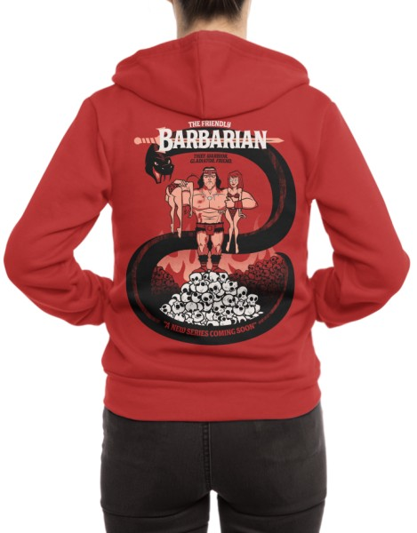The Barbarian Hero Shot
