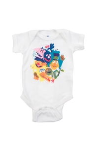 The Street Gang, Sesame Street Babies and Toddler Girls + Threadless Collection