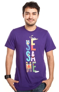 Letters, Sesame Street Tees + Threadless Collection