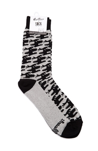 Hound's Tooth: Crew Socks, Socks + Threadless Collection