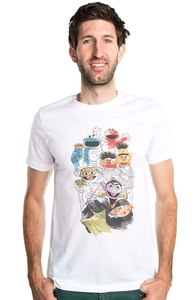 Paint Like Count, Sesame Street Tees + Threadless Collection