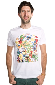 Growing Up with Colors at Sesame Street, Sesame Street Tees + Threadless Collection