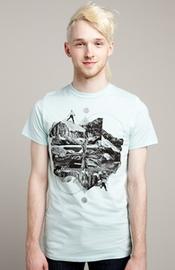 Snow Cap Exploring: Threadless Guys Pima Tee, Guys Select - 40% Off Winter Collection + Threadless Collection