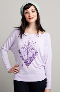 Alpine Seduction: Threadless Girly Loose Raglan, Girly Select - 40% Off Winter Collection + Threadless Collection