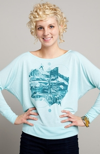 Snow Cap Exploring: Threadless Girly Loose Raglan, Girly Select - 40% Off Winter Collection + Threadless Collection