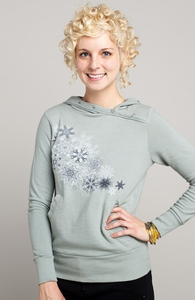 The Forest Drift: Threadless Girly Asymmetrical Hoody, Select + Threadless Collection