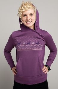 Cross Threaded: Threadless Girly Asymmetrical Hoody, Girly Select - 40% Off Winter Collection + Threadless Collection