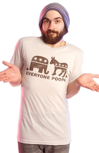 Everyone Poops, Was $12.95 - Now $8.99! + Threadless Collection