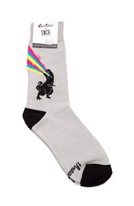 Technicolour Rex: Crew Socks, Socks + Threadless Collection