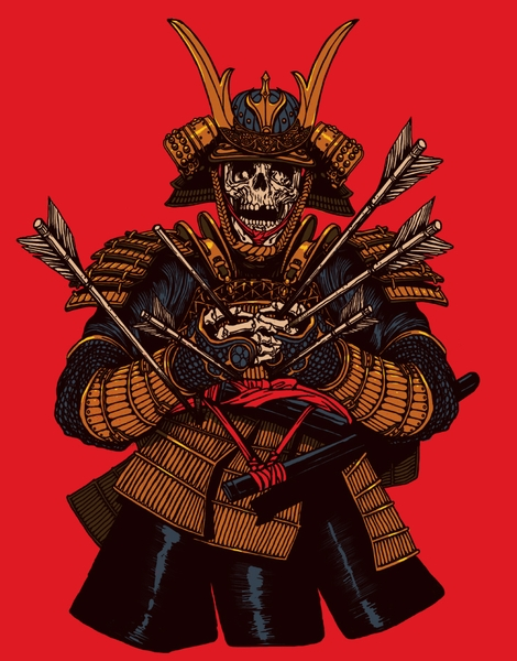 Dead Samurai Hero Shot